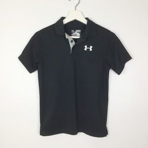 Under Armour Black Polo Golf Shirt ▪️